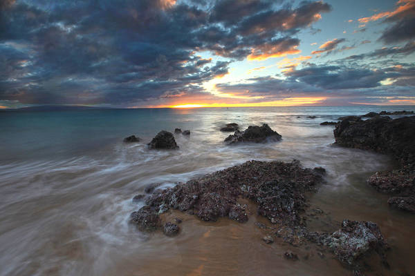 Kihei Photograph - Charlie Young Sunset by James Roemmling