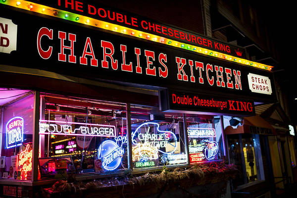 Photograph - Charlies Kitchen Cambridge Ma Harvard Square by Toby McGuire