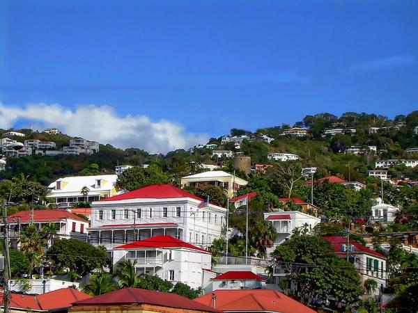 Photograph - Charlotte Amalie by Anthony Dezenzio