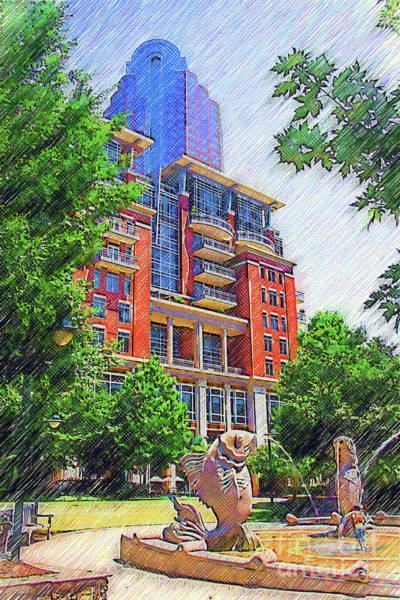 Digital Art - Charlotte Art Work by Jill Lang