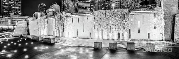 Wall Art - Photograph - Charlotte Bearden Park Waterfall Fountain Panorama Photo by Paul Velgos