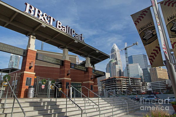 Photograph - Charlotte Knights Ballpark by Kevin McCarthy