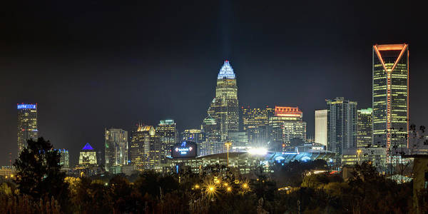 Charlotte Nc Wall Art - Photograph - Charlotte Light - 2017 by Brian Young