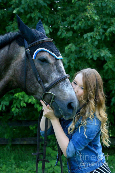 Photograph - Charlotte-phil-21 by Life With Horses