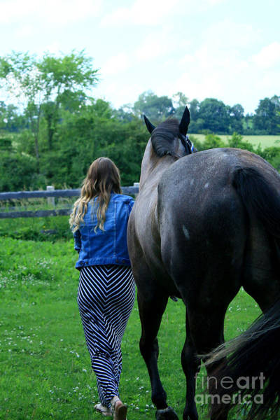 Photograph - Charlotte-phil-25 by Life With Horses