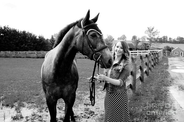 Photograph - Charlotte-phil-28 by Life With Horses
