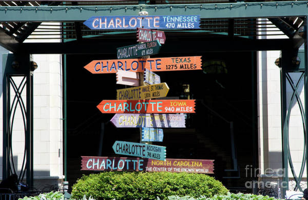 Photograph - Charlotte Signs by Jill Lang