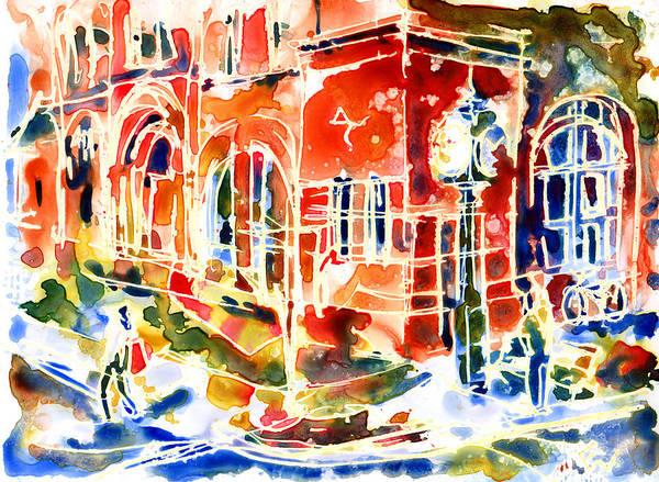 Prince Edward Island Painting - Charlottetown City Hall by Yevgenia Watts