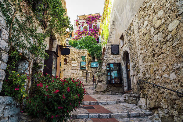 Photograph - Charming Provencal House In Eze, Cote D'azur, France by Alexandre Rotenberg