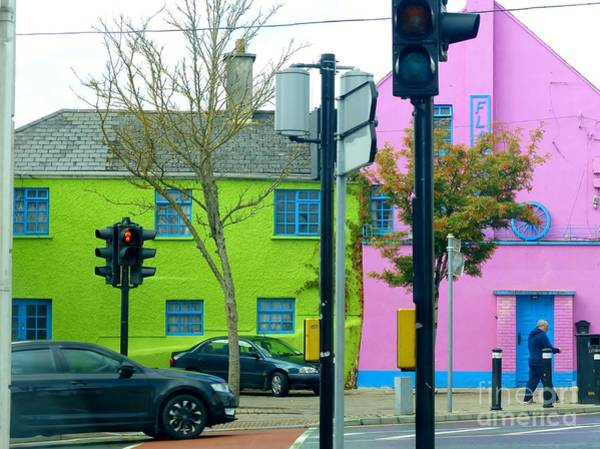 Photograph - Street Corner In Ireland by Rosanne Licciardi