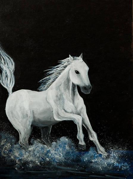Painting - Chase by Elizabeth Mundaden