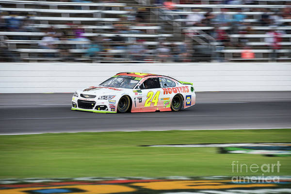 Photograph - Chase Elliott At Texas Motor Speedway by Paul Quinn