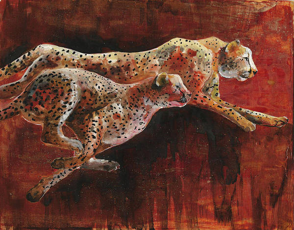 Painting - Chasing Life by Sherry Shipley
