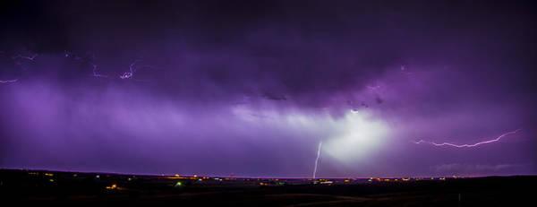 Photograph - Chasing Nebraska Lightning 044 by NebraskaSC