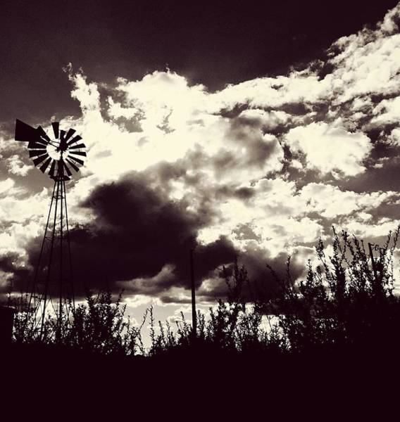 Photograph - Chasing Windmills by Brad Hodges