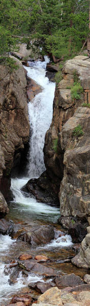 Photograph - Chasm Falls 2 - Panorama by Shane Bechler