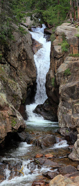 Photograph - Chasm Falls - Panorama by Shane Bechler