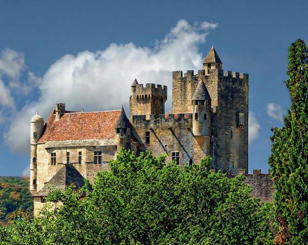Photograph - Chateau De Beynac by Anthony Dezenzio