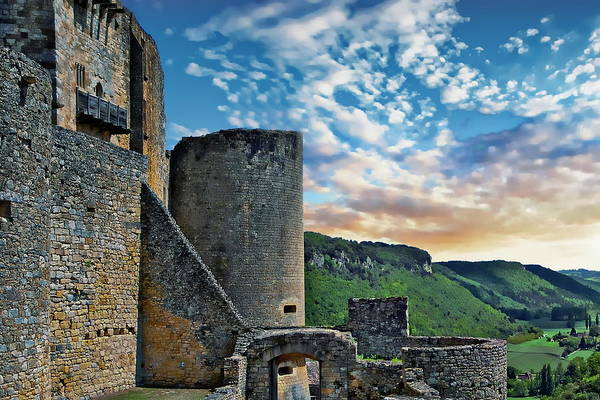 Photograph - Chateau De Castelnaud by Anthony Dezenzio