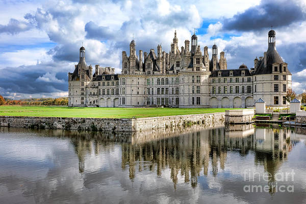 Wall Art - Photograph - Chateau De Chambord by Olivier Le Queinec