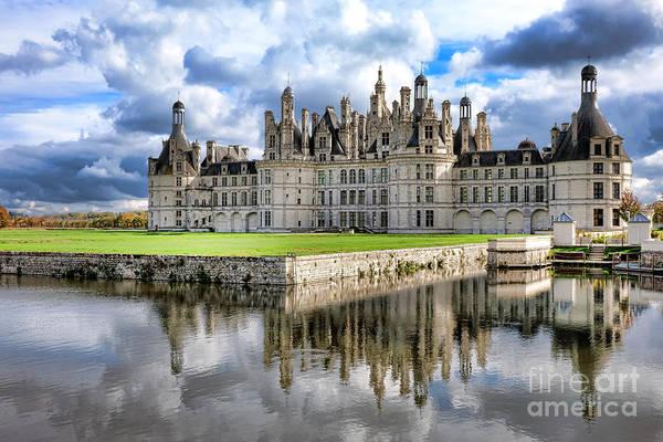 Chateau Photograph - Chateau De Chambord by Olivier Le Queinec