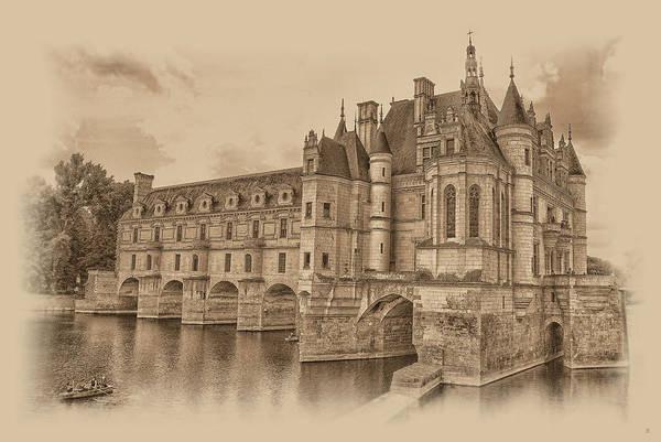 Photograph - Chateau De Chenonceau by Nigel Fletcher-Jones