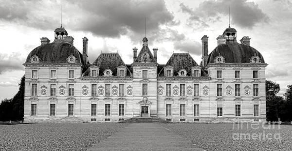 Chateau Photograph - Chateau De Cheverny by Olivier Le Queinec