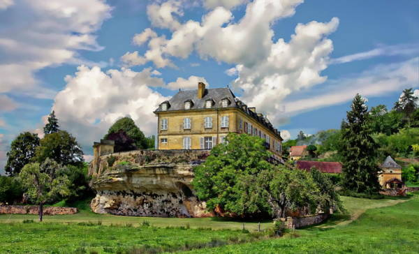 Photograph - Chateau Du Roc by Anthony Dezenzio