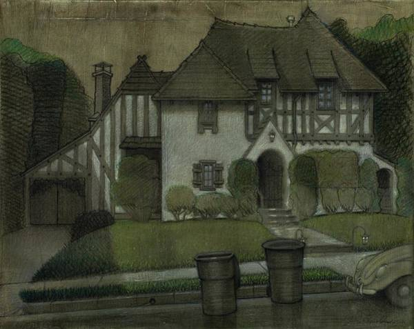 Painting - Chateau In The City by John Reynolds