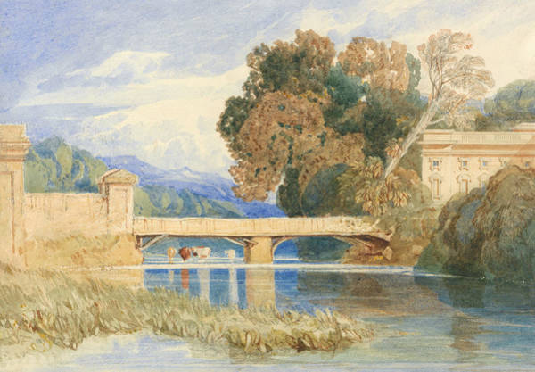 Painting - Chateau Navarre, Near Evreux, Normandy by John Sell Cotman