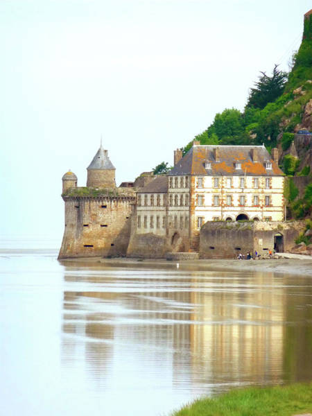 Photograph - Chateau On Mont St-michel by Vicki Hone Smith