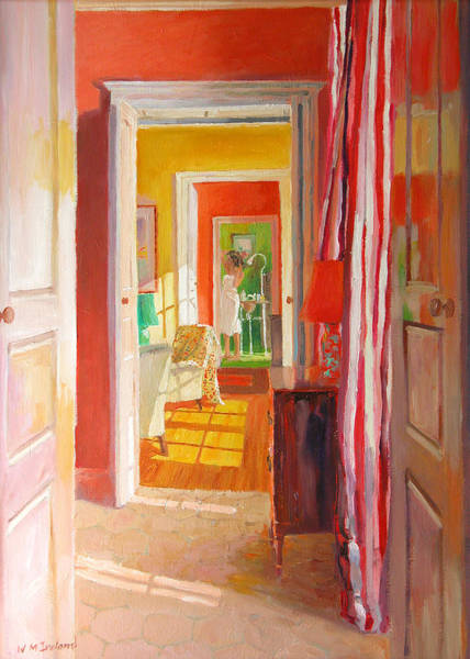 Doorways Painting - Chateau Tanesse by William Ireland
