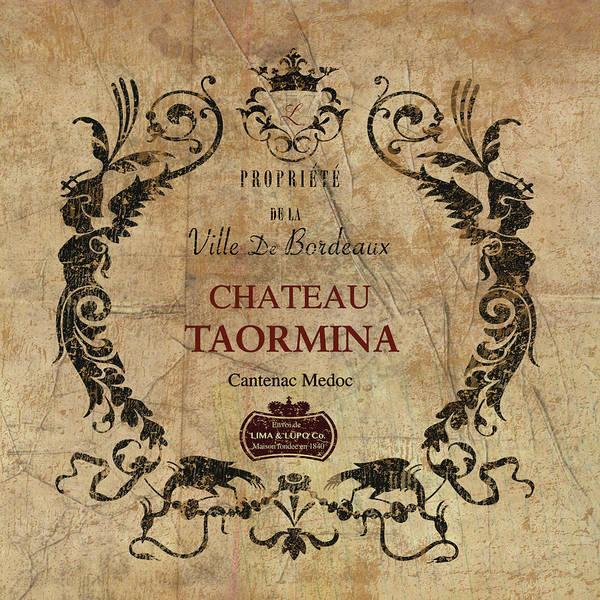 Champagne Mixed Media - Chateau Taormina  by Marilu Windvand