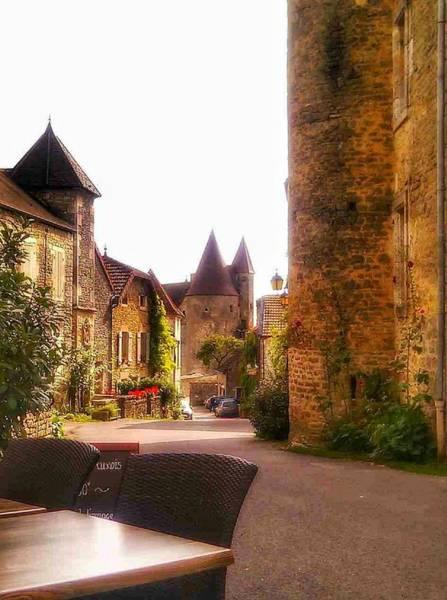 Chateauneuf Photograph - Chateauneuf En Auxois Castle France by Nadia Seme
