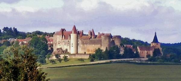 Wall Art - Photograph - Chateauneuf En Auxois France by Marilyn Dunlap