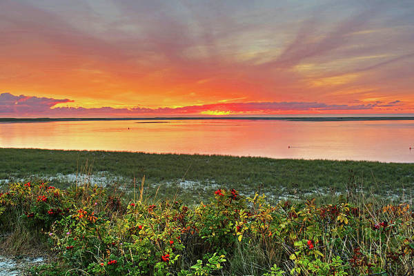 Photograph - Chatham Ma Cape Cod Sunrise Beach by Toby McGuire