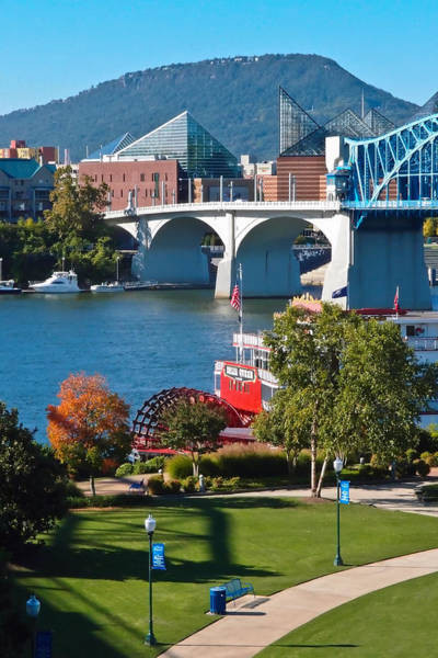 Photograph - Chattanooga Landmarks by Tom and Pat Cory