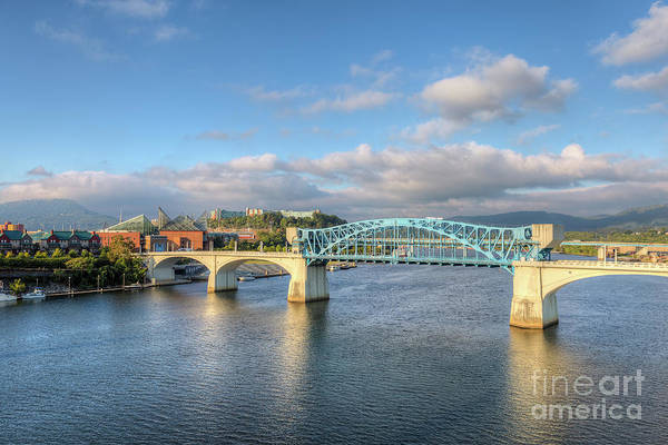 Photograph - Chattanooga Market Street Bridge I by Clarence Holmes