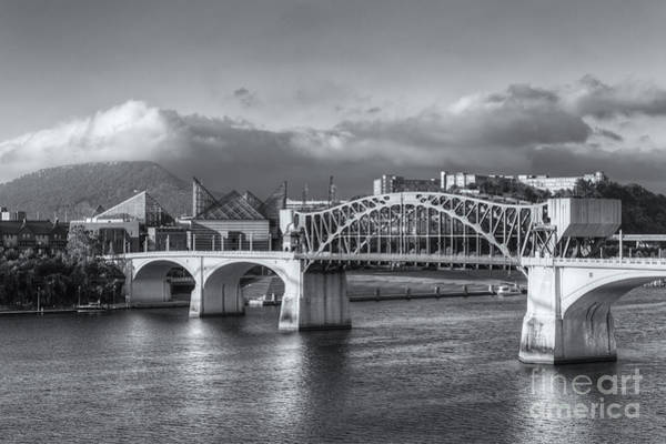 Photograph - Chattanooga Market Street Bridge Iv by Clarence Holmes