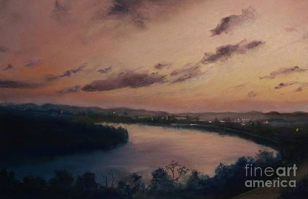 Pastel - Chattanooga Tennessee  by Robin Maria Pedrero