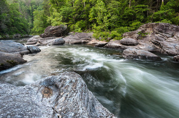 Mark Iv Wall Art - Photograph - Chattooga River Section Iv Whitewater by Mark VanDyke