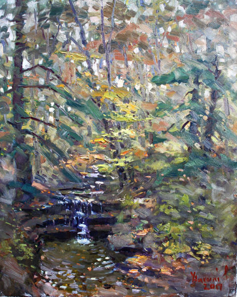 State Painting - Chautauqua Gorge State Forest by Ylli Haruni