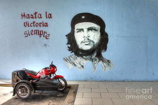 Wall Art - Photograph - Che Bike  by Rob Hawkins