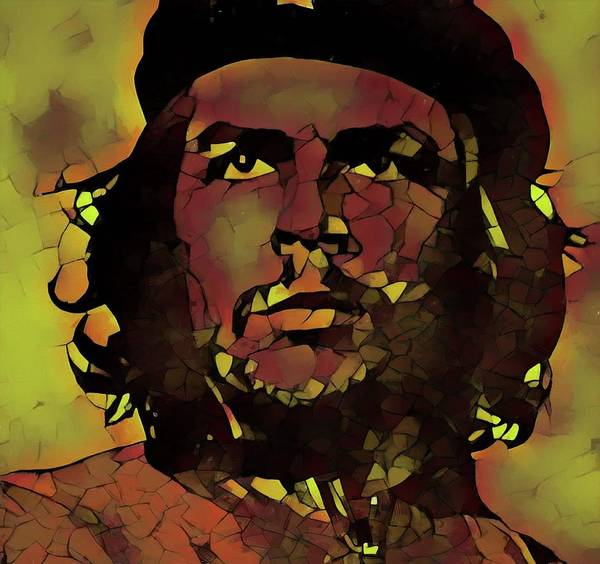 Wall Art - Painting - Che by Dan Sproul