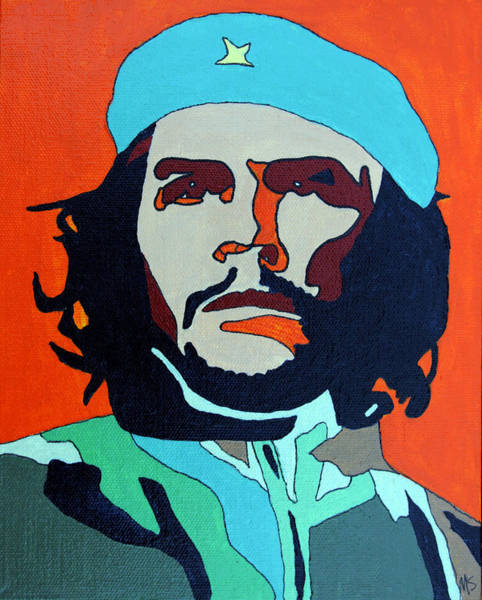 Wall Art - Painting - Che Guevara by Murray Stiller