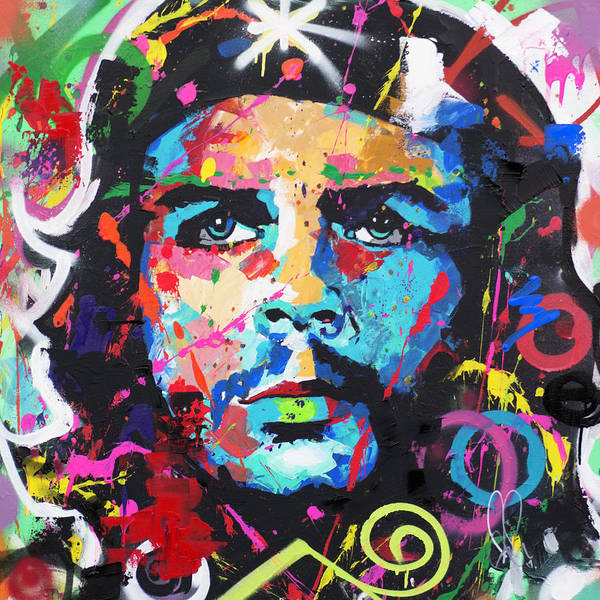 Wall Art - Painting - Che Guevara by Richard Day