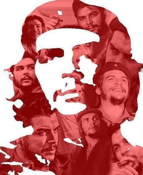 Wall Art - Pyrography - Che Guevara  by Yeisser Ramirez
