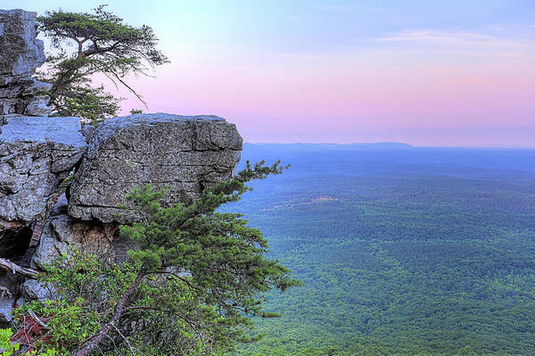 Photograph - Cheaha The Top Of Alabama by JC Findley