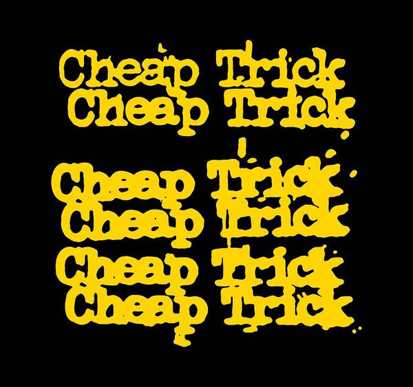 Trick Or Treat Drawing - Cheap Trick by Juki Oiii