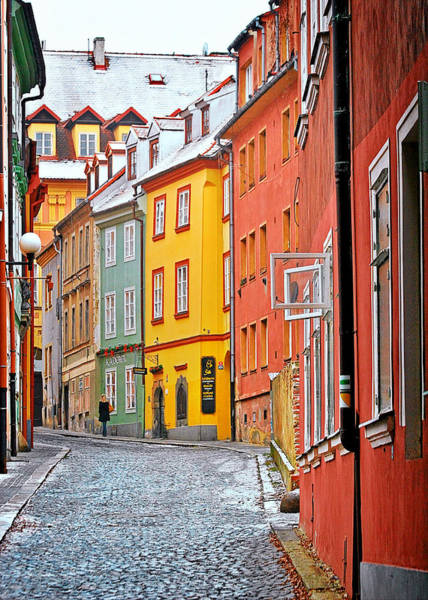 Photograph - Cheb An Old-world-charm Czech Republic Town by Christine Till